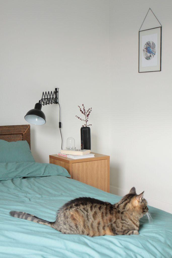 sypialnia w domu