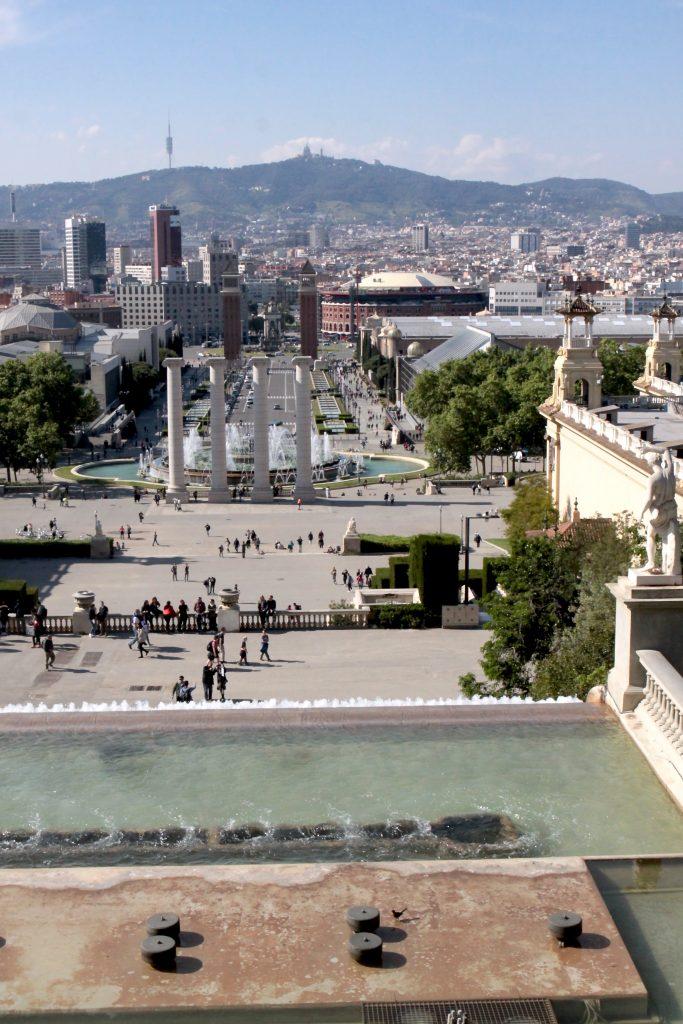 widok Barcelona