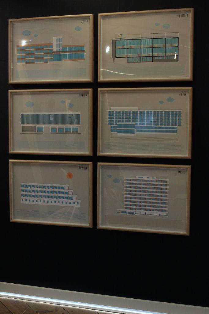 Kolekcja plakatów Wypoczynek /projekt: Katarzyna Jasińska / producent: Gra-Fika