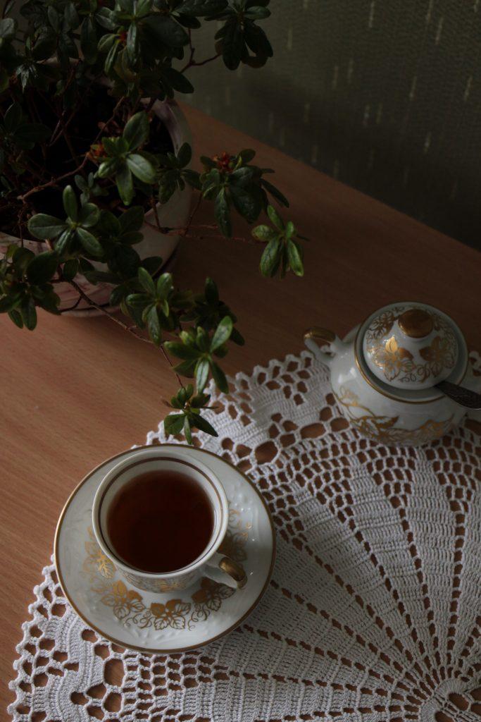 Podsumowanie roku 2017 - Filiżanka z herbatą