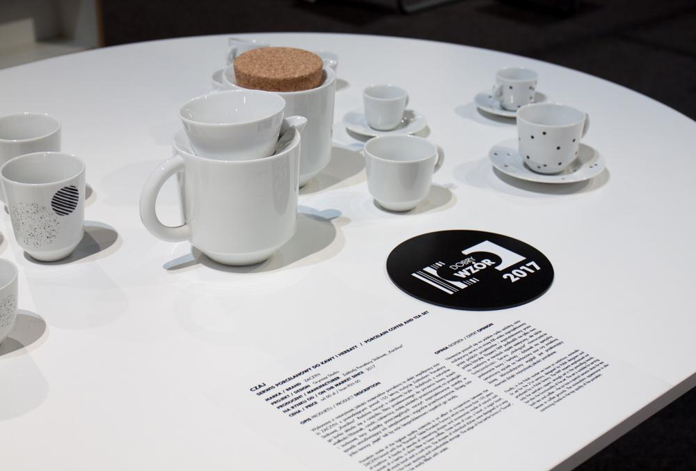 Czaj - serwis porcelanowy do kawy i herbaty/projekt Grynasz Studio, producent Zakłady Porcelany Stołowej Karolina