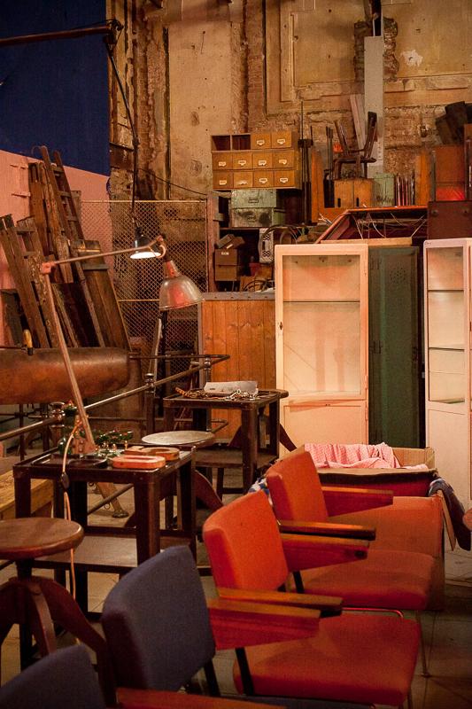 fotele industrial
